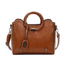 2019 New Vintage Genuine Leather Bag Women Alligator Luxury Handbags Bags Designer Crossbody for Tote