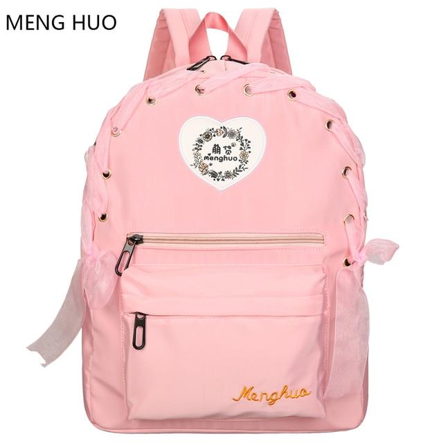 cec169a9d359 cute mochilas vintage packbag womans backpack travel notebook laptop rugzak  teenager bag pack for women nylon school bags girl