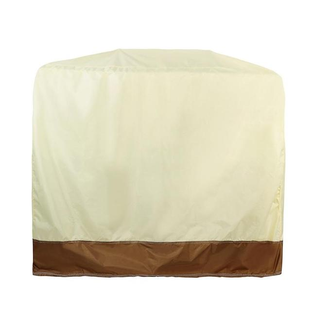 BBQ Grill Cover 58 Gas Barbecue Heavy Duty Waterproof Outdoor Weber Beige  Patio BBQ Cover #