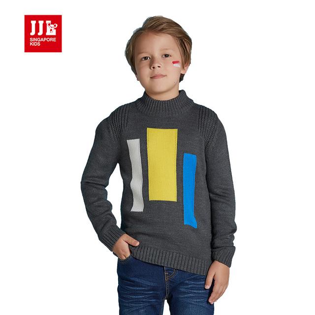 Meninos tartaruga pescoço camisola camisola das crianças dos miúdos roupas crianças pullover inverno crianças encabeça meninos inverno encabeça 2016