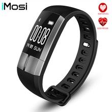 G20 Heart Rate/Blood pressureMonitor Smart Wristband Fitness Sport Bracelet Touch Pulsometer ECG Monitor PK ID107 Xiomi band2