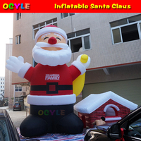 Inflatable Santa Claus Inflatable Christmas Decoration With Free Shipping By DHL Express