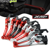With Laser Logo Motorcycle Accessories CNC Aluminum Brake Clutch Levers For Honda XADV 750 X ADV