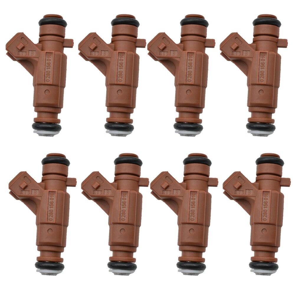 8PCS LOT A1130780249 0280156016 fuel injector for Mercedes Benz ML350 2003 2005 S350 2006 3 7L