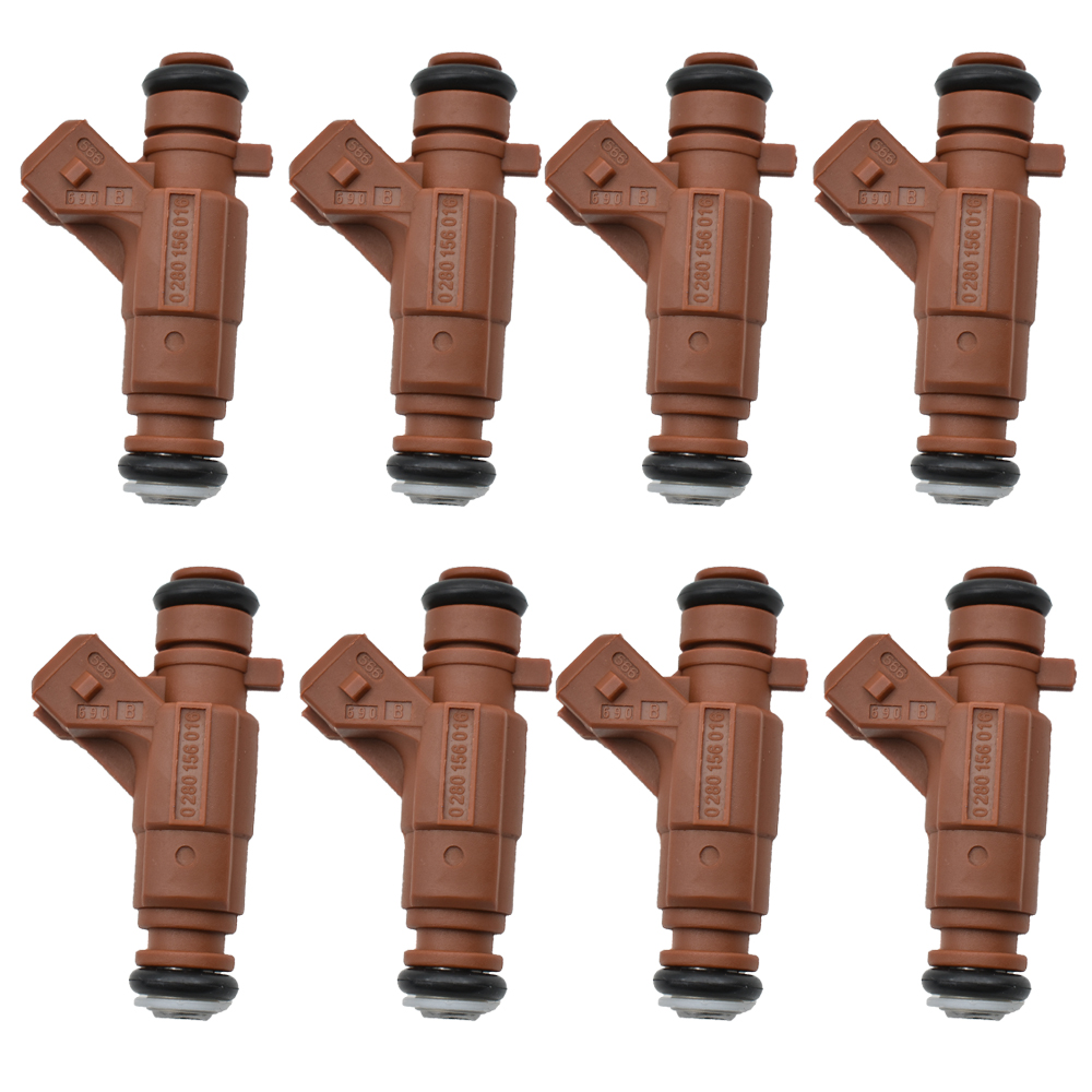 8PCS/LOT A1130780249 0280156016 fuel injector for Mercedes Benz ML350 2003~2005 / S350 2006 3.7L V6-in Fuel Injector from Automobiles & Motorcycles    1