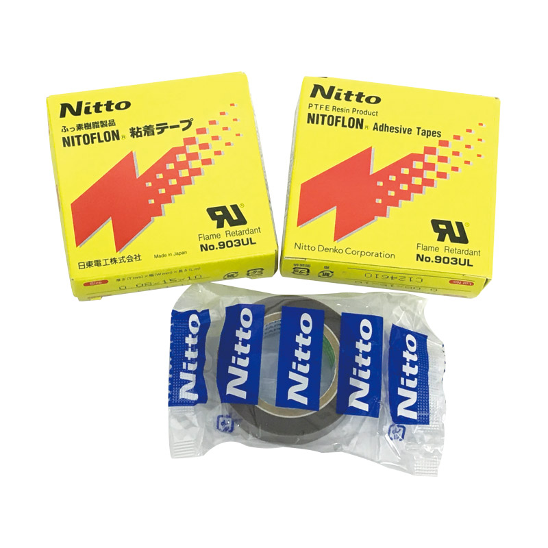 Japan Nitto Denko NITOFLON Adhesive Tape 903UL T0.08mm*W15mm*L10m
