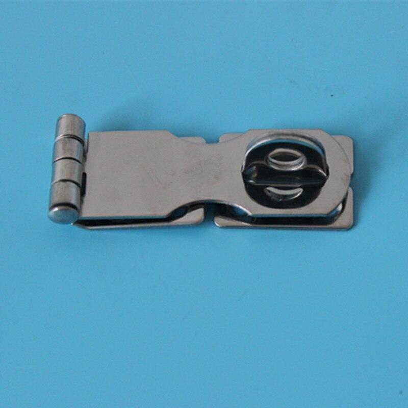 A Pair 2-3/4Marine Hardware Stainless Steel Security Hasp Door Padlock Lock Shed Door Gate