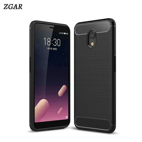 For Meizu Meilan S6 Case ZGAR Carbon Fiber M6S Mobile Covers Soft Slim Silicon Phone Bags Cases for Meizu Meilan S6 MS6 Coque Pakistan