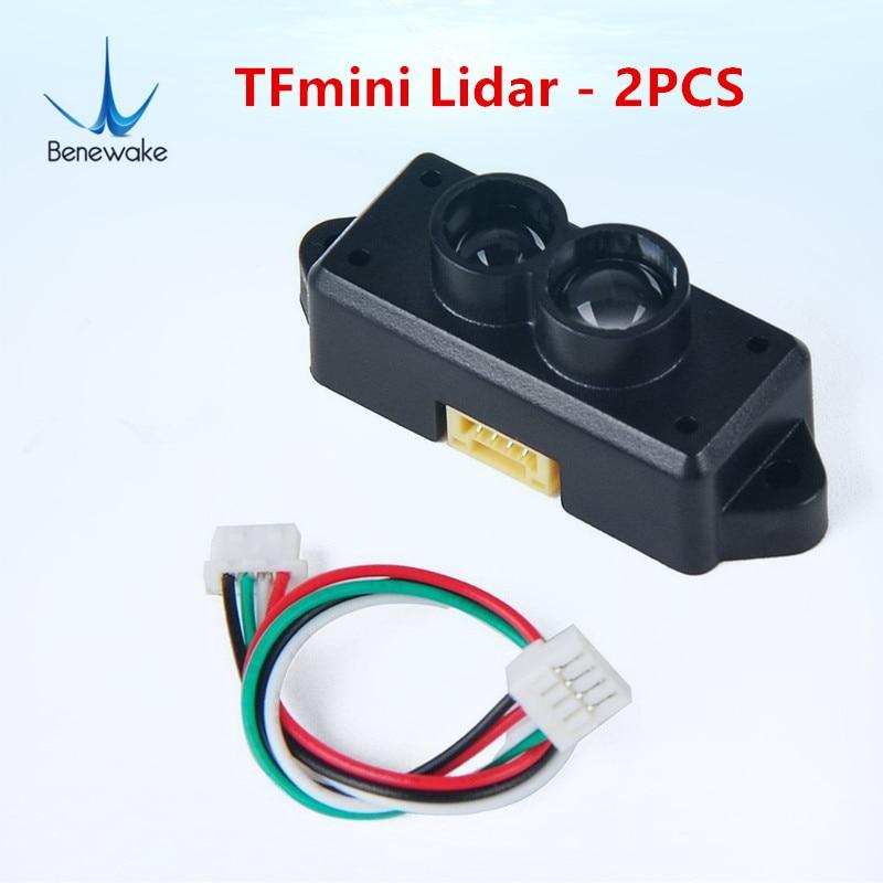 2 PCS TOF Mini Benewake TFmini Lidar Range Finder Sensor Module Single Point Ranging for Arduino
