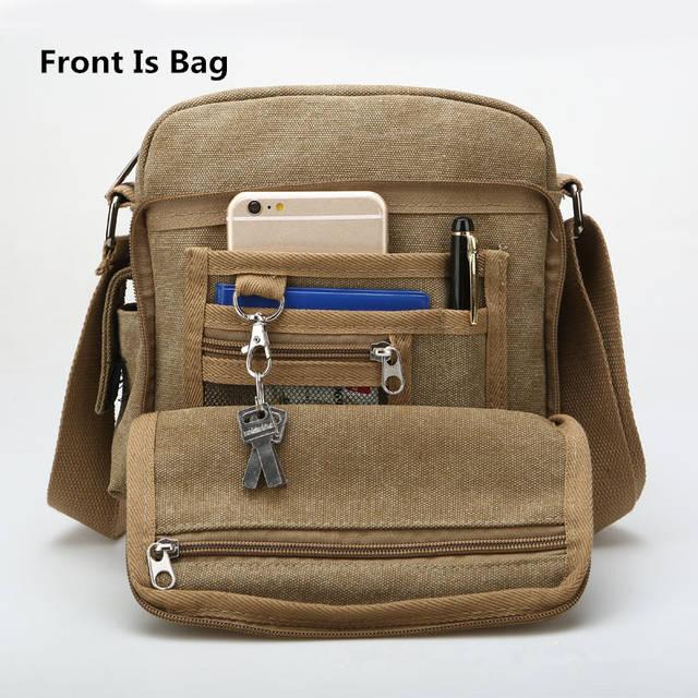 Khaki Side Bag F9a4ea