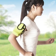 1pc Outdoor Arm Bag Cloth Bag Sport Arm Band Case Running Fitness Mobile Phone Bag Multi-functional Storage Bag 1767AB