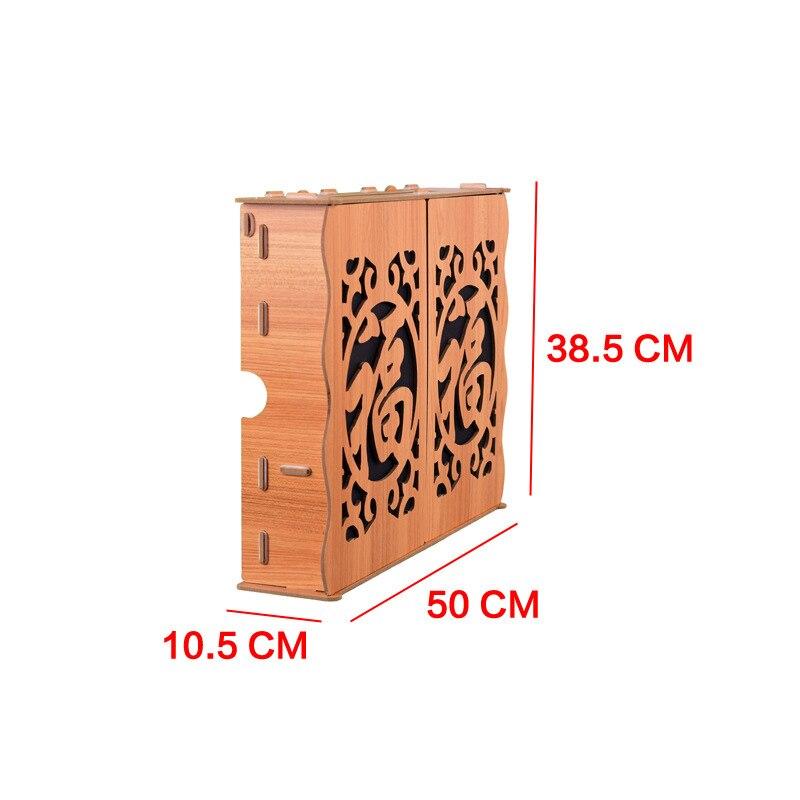 2019 nouveau mode en bois boîte multimédia décoratif boîte de protection routeur stockage faible protection boîte décoration stockage ameublement