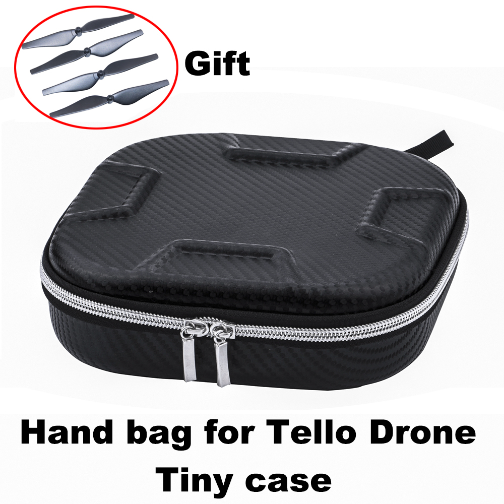 Portable Bag EVA Carrying Case for DJI Tello Drone Battery Cable Storage Case Handbag Portable Box with Propeller Gift Parts portable carrying case storage bag for xiao mi mitu