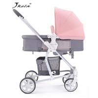 Многофункциональная 3 в 1 детская коляска прогулочная коляска складная коляска bebek arabasi или амортизирующая Складная Лампа Вес