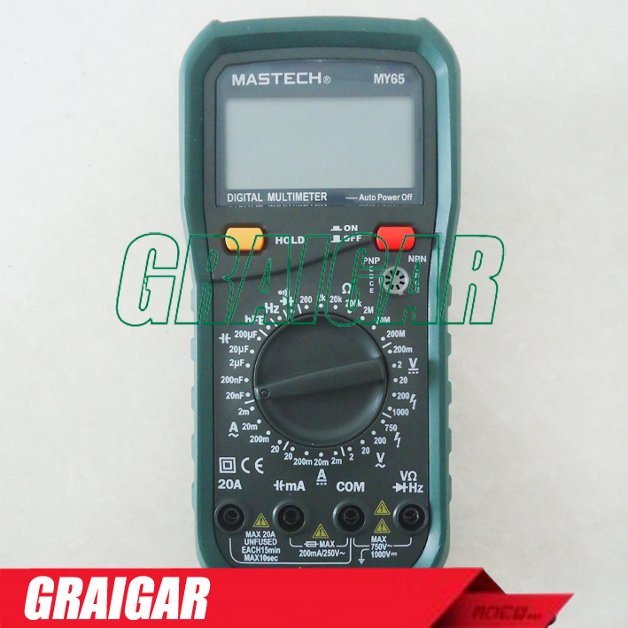 Cheap Mastech MY65 DMM Digital Multimeter  Free Shipping