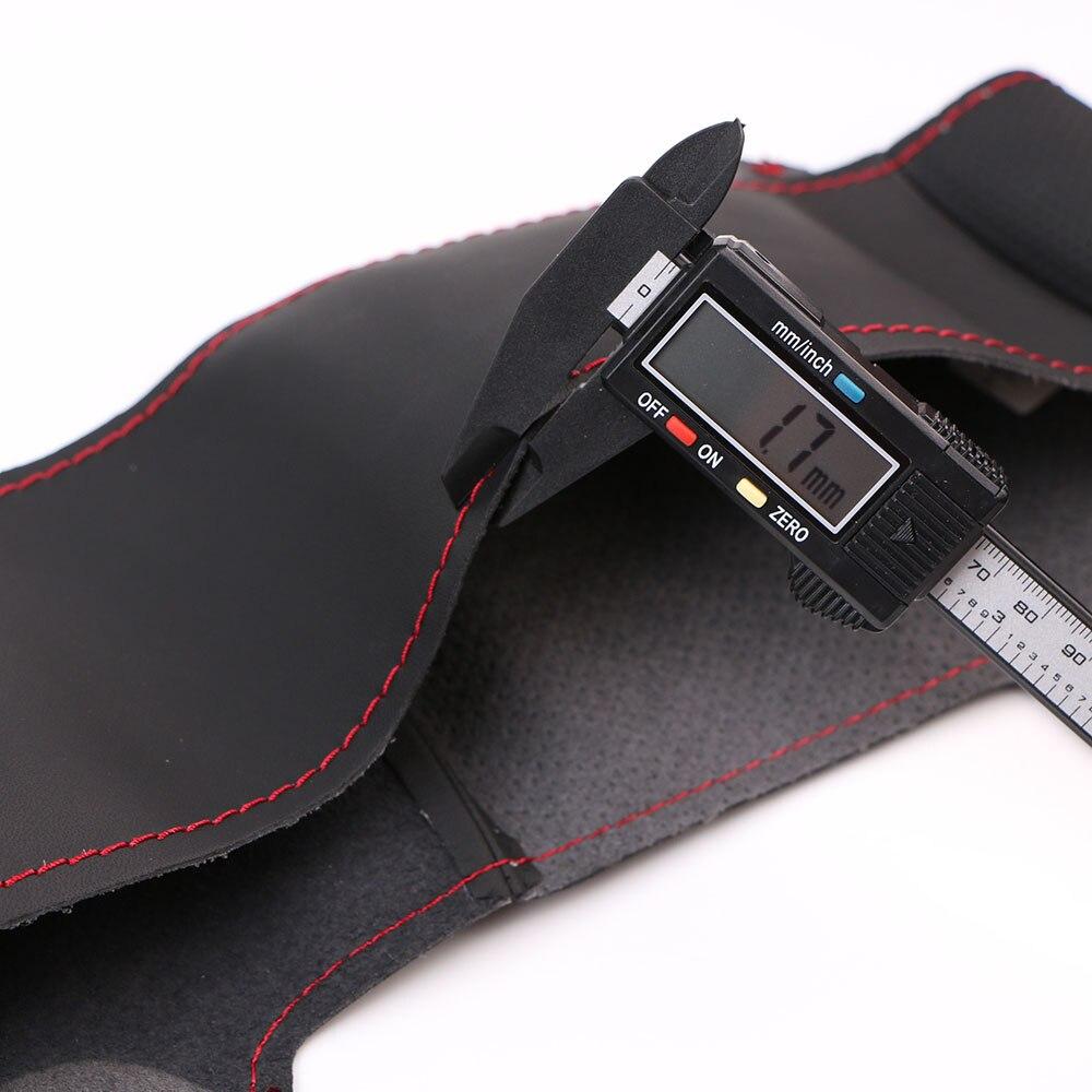 Image 4 - Artificial Leather car steering wheel braid for  Mazda 3 Axela  Mazda 6 Atenza 2014 2017 Mazda 2 2015/Custom made Steering cover-in Steering Covers from Automobiles & Motorcycles