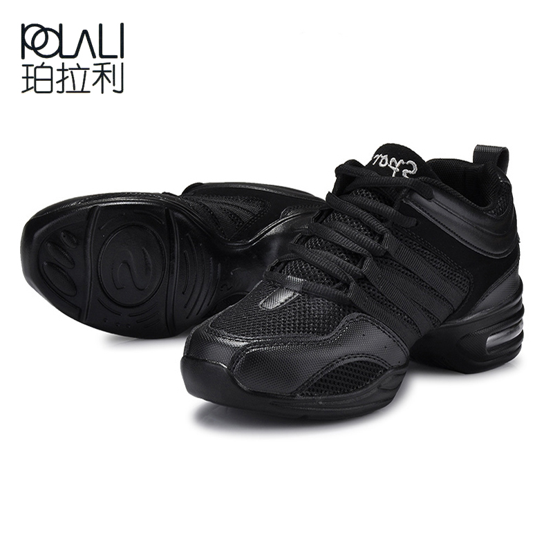 POLALI Hot Sports Feature Soft Outsole Breath Dance Shoes Sneakers For Woman Practice Shoes Modern Dance Jazz Shoes Sneakers 42
