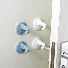 Silicone Door Stops Safe Protection Door Stopper For Doors  Anti-collision Deurstopper Door Handle Knob Holder Crash Pad Wall цены онлайн