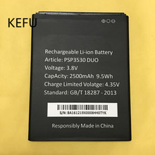 KEFU PSP3530 DUO Battery 100% New 2500mAh Replacement battery For Prestigio Muze D3 3530 Duo E3 PSP3531 DUO Muze A7 PSP7530 DUO