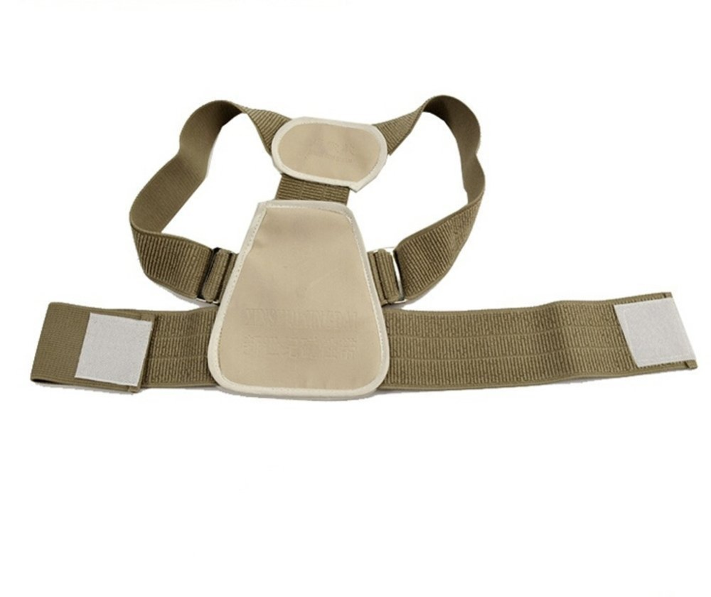 Drop shipping Teenage Posture Corrector Correction Orthosis Back Support Back Posture Correction Flexible Back Belt for Child 1