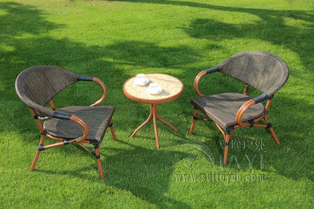 3 Pieces Cast Aluminum Patio Furniture Garden Furniture Outdoor Furniture  Mesh Fabric Furniture   Online
