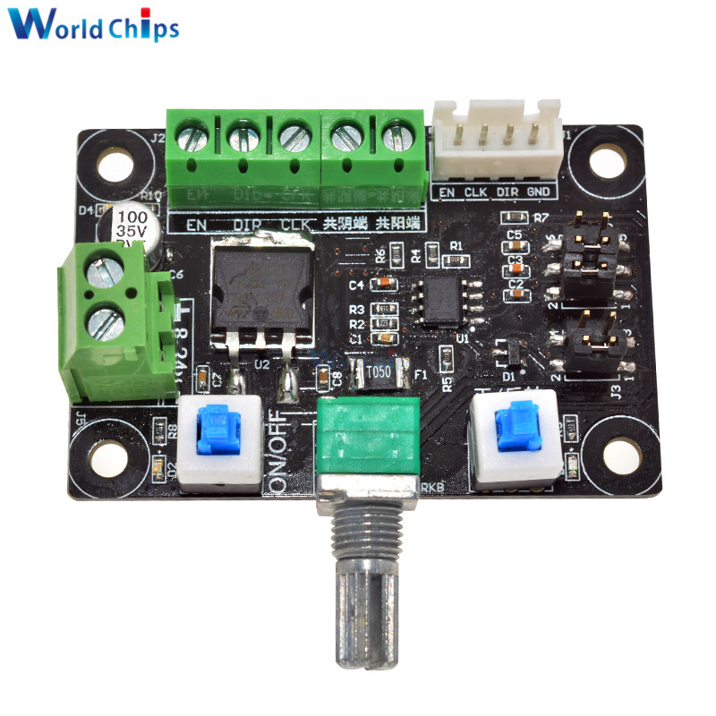 Motor pulse signal generator for stepper motor driver for Stepper motor integrated controller