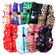 Pet Products Puppy Clothes Vest Warm Dog For Small Dogs Winter Windproof Pets Jacket Coat Padded Chihuahua Apparel