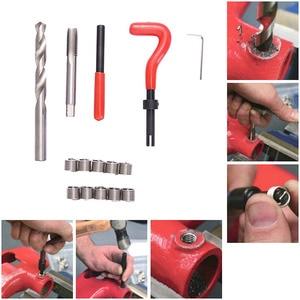 Image 2 - Car Pro Coil Drill Tool Metric Thread Repair Insert Kit M4 M5 M6 M8 M10 M12 M14 for Helicoil Thread Repair Kit Coarse Crowbar