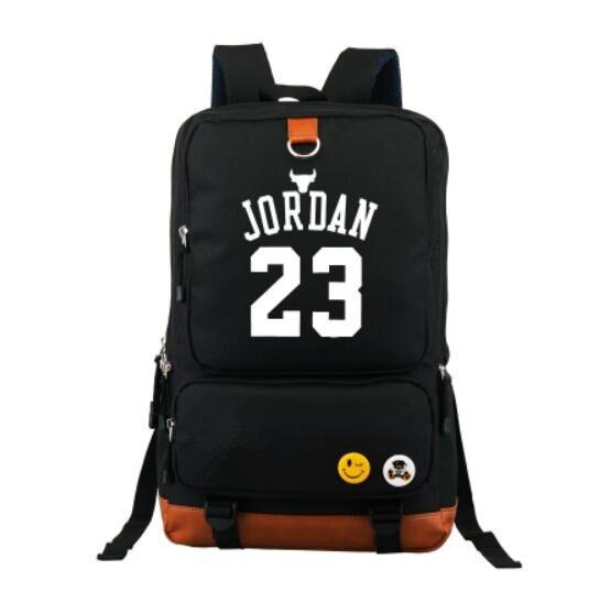 79d744ff95a9 sac a dos 2019 Hot Sale 23 School jordan Backpack Fashion Star Oxford School  Bag for