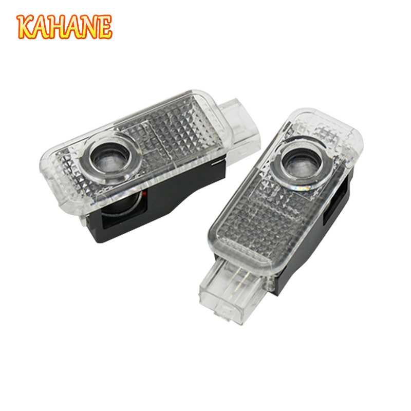 KAHANE 2x S3 Logo Led Car Door Laser Projector Light FOR Audi A3 A4 A5 A6 A8 B5 B6 B7 B8 C5 C6 S3 S4 S5 S6 S7 S8 RS3 RS4 RS5 RS6