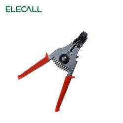 ELECALL automatyczny ściągacz do przewodów Stripping Crimper szczypce do zaciskania wycinarka szczypce do cięcia bocznego obrane szczypce