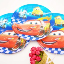 Disney Lightning Mcqueen Kids Birthday Party Supplies Decorations Tableware Tablecloth Cups Plates Baby Shower Favors Gifts Set
