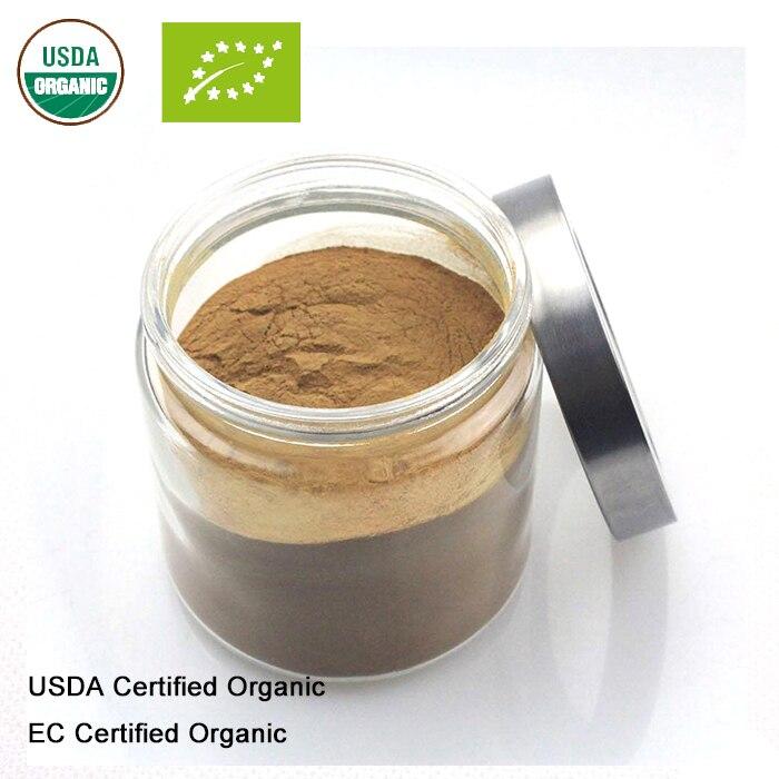Schönheit & Gesundheit Genial Usda Und Eg Zertifiziert Organischen Roten Reishi Pilz Extrakt 10:1 Lucid Ganoderma Polysaccharid Attraktiv Und Langlebig