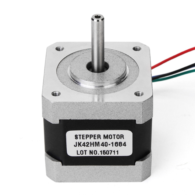 NEMA 17 42 Híbrido Motor De Passo 0.9 Graus 40mm 1.68A 2 Fase Stepper Motor Para CNC Router