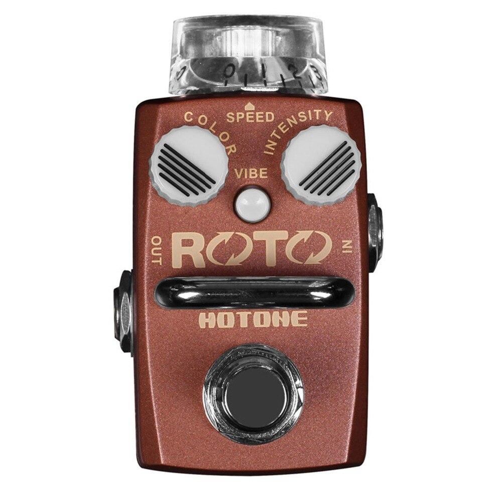 Hotone ROTO Rotary Speaker Simulator Electric Guitar Effect Pedal Fresh-Vibe Pedal компрессорное масло roto injekt fluid в челнах