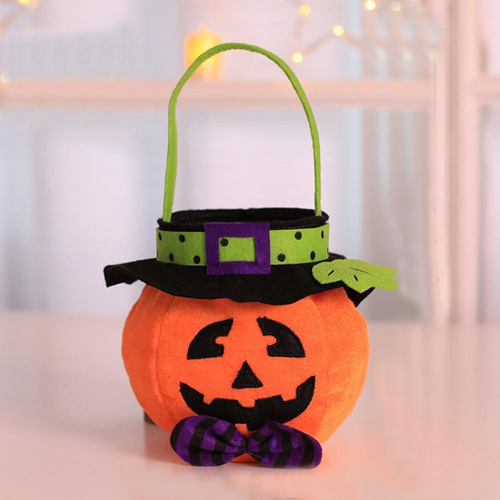 1pcs baby girls boys pumpkin bag storage halloween bag accessory