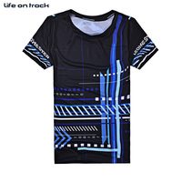 Best Selling Mens Running Jersey Ball Black Sports Wear Tops Short Sleeves Printing Anti Pilling Breathable
