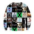 Alisister Autumn Fall Out Boy/Twenty One Pilots/Panic At The Disco/Pierce The Veil Cool Hoodie Crewneck Streetwear 3d Sweatshirt