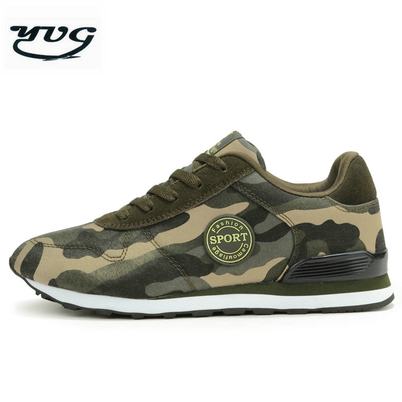 YUG 2018 Camouflage Women Mesh Running Shoes Lightweight Sneakers Breathable Sport Shoes Athletic Trainers Men Shoes 1698