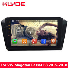 KLYDE 10.1″ IPS 4G Android 8 7.1 6 Octa Core 4GB RAM+32GB Car DVD Player Radio GPS Navigation For VW Magotan Passat B8 2015-2018