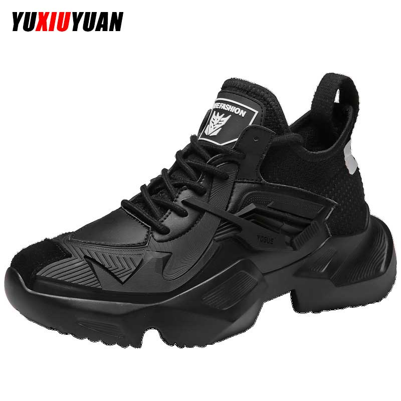 2019 Spring Fshion Breathable Improve Running Shoes Men Comfortable Lightweight Wearable
