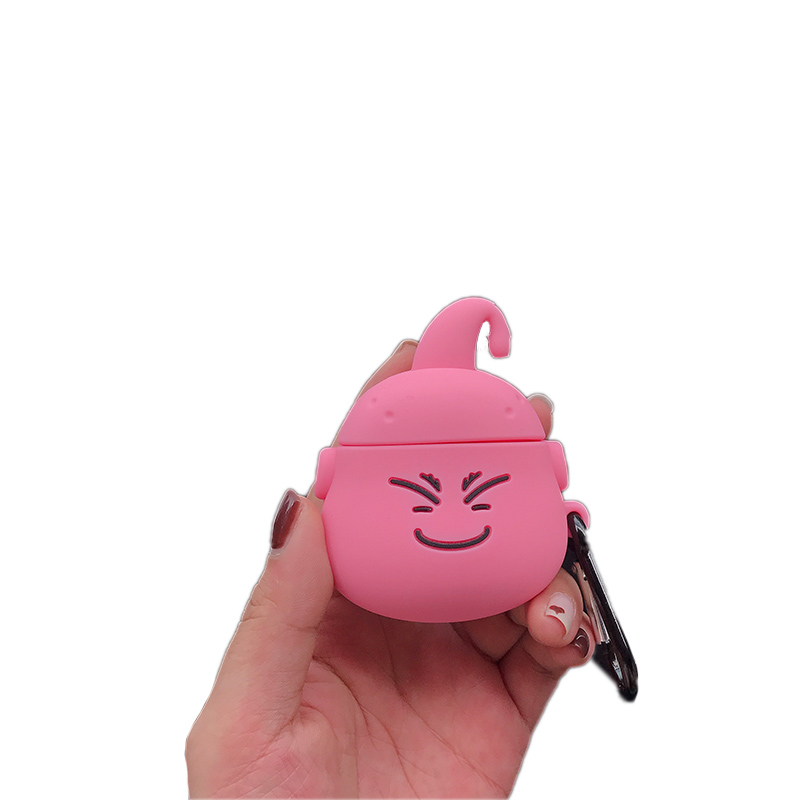 Image 3 - Airpods 1 2 Cute Japanese Cartoon Dragon Ball Majin Buu earphone silicone Cover For Apple Wireless Bluetooth Headset Cases Funda-in Earphone Accessories from Consumer Electronics