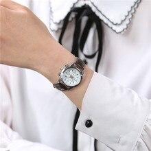 2018 новые модные-механические часы мужские Студенческие корейской версии простой тренд повседневная женская обувь часы