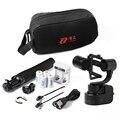 Zhiyun Z1 Rider-M 3-eixo Cardan Câmera Wearable Com o pólo de extensão e transportar-bag para gopro 3 4 pk feiyu wg wg Mini