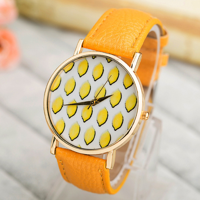 Creative Fashion Watches Baby Lemon kinderen kijken 2016 Fashion Children's Watches Boy Girl and Student Sport Dzieci Watch