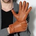 Мода Италия Импортирует Высокого Оленьей Перчатки Мужская Мода Перчатки Из Натуральной Кожи Перчатки Зима Весна Теплый Водительские Перчатки 016