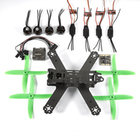 New Brand Mini Quadcopter Support Various Airframe FPV DIY 210 Mini Drone Carbon Fiber Frame Set