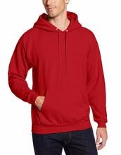 2017 New Brand Mens Red Hoodies Sweatshirts Male Slim Sweatshirts Hoody Blue Navy hoodie