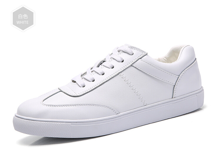 women shoes Genuine leather Lace-Up flats white shoe Soft bottom loafers Casual Shoes size 35-40 23
