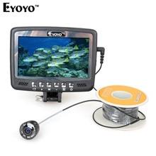 "Eyoyo Original 1000TVL Underwater Ice Fishing Camera Fish Finder 30M Cable 4.3"" Color LCD Monitor 8pcs IR LED"